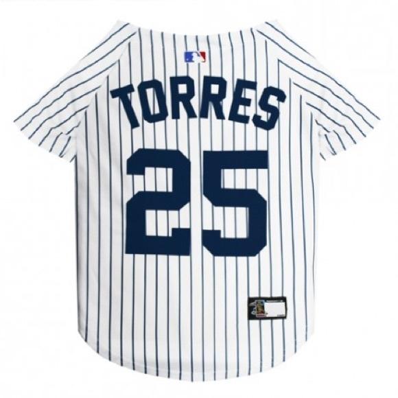 info for 2b83c bc76c Gleyber Torres #25 MLBPA Yankees Dog Pet Jersey NWT